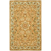 "Safavieh Handmade Classic Heirloom Beige Wool Rug - 8'-3"" x 11'"