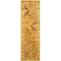 """Safavieh Handmade Classic Treasures Wool Runner (2'3 x 14') - 2'3"""" x 14'"""