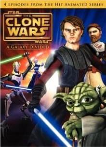 Star Wars: The Clone Wars - A Galaxy Divided (DVD)