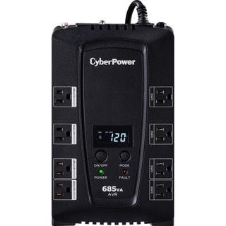 CyberPower Intelligent LCD CP685AVRLCD 685VA Desktop UPS