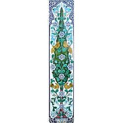 Garden Outdoor 'Floral Birds Pine Tree' 20 Ceramic Tile Mosaic Wall Mural  Panel | Overstock com Shopping - The Best Deals on Wall Tiles