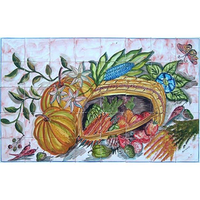 mosaic kitchen decor 40 tile ceramic wall mural free