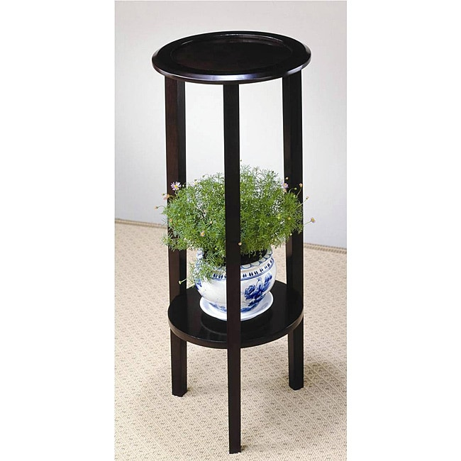 Venetian Wood Plant Stand Table Free Shipping Today