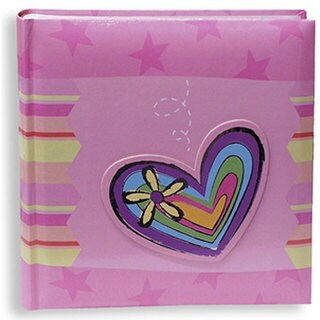 Pioneer Pink 200-pocket Photo Album with Bi-directional Pockets