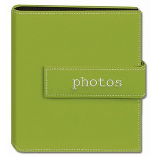 Pioneer Photo Green 4x6 Hook-and-loop Strap Photo Albums (Pack of Two)|https://ak1.ostkcdn.com/images/products/3834594/P11889820.jpg?_ostk_perf_=percv&impolicy=medium
