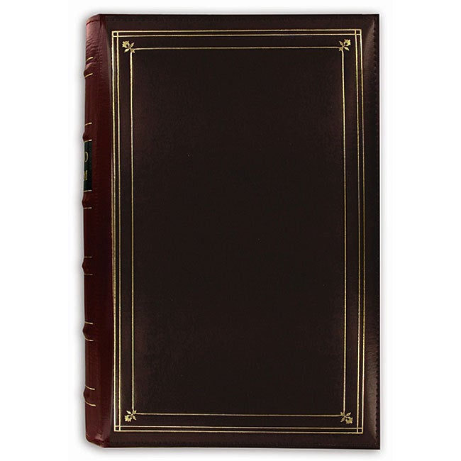 Pioneer Photo Albums Pioneer 204-pocket 4x6-inch Leather ...