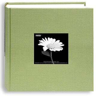 "Pioneer Cloth Photo Album W/Frame 9""""X9"""" (Option: Green)|https://ak1.ostkcdn.com/images/products/3834638/P11889844.jpg?impolicy=medium"