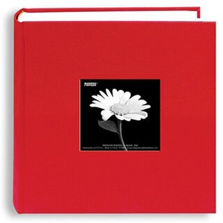 "Pioneer Cloth Photo Album W/Frame 9""""X9"""""