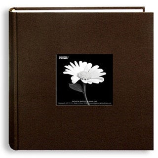 Pioneer 200-Pocket 4x6 Chocolate-Brown Photo Album (Pack of Two)