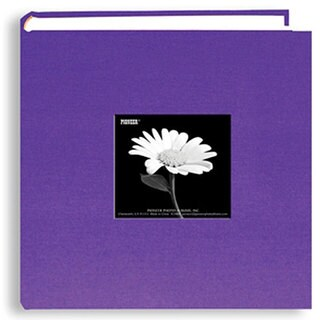Pioneer 200-pocket Grape Purple Photo Album (Pack of 2)