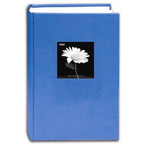 Pioneer Photo Albums Blue Sky Fabric Frame Cover Bi-directional Memo Album (Pack of 2)