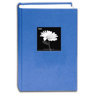 Pioneer Photo Albums Blue Sky Fabric Frame Cover Bi-directional Memo Album (Pack of 2)
