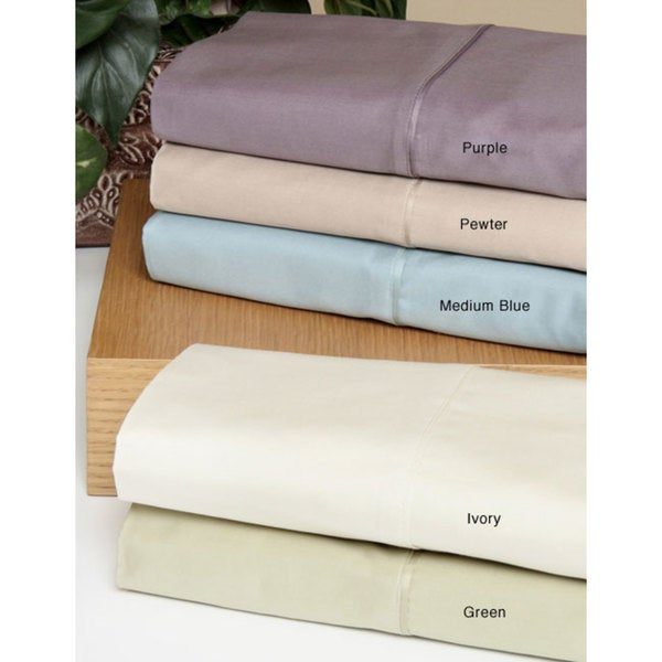 Sateen 600 Thread Count Sheets with Bonus Pillowcases