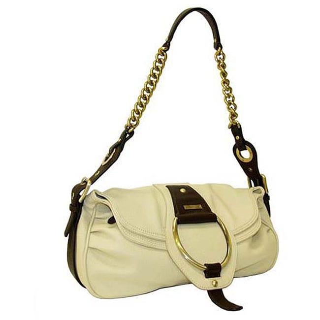 Rioni 'Virtue' Flap-over Shoulder Bag