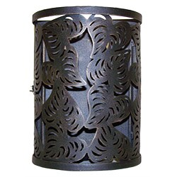 Handmade Cut Leaf Iron Lantern (India)