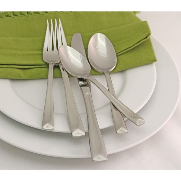 Oneida Lincoln 45-piece Flatware Set. Opens flyout.