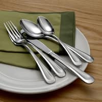 Oneida 'Satin Sand Dune' 45-piece Flatware Set
