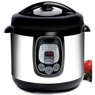 Programmable Stainless Steel 8-quart Pressure Cooker