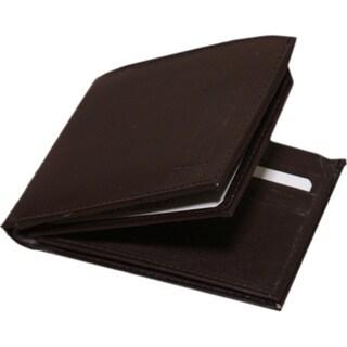 Kozmic Men's Real Leather Bifold Wallet