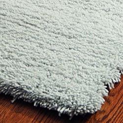 safavieh classic plush handmade super dense light blue shag rug 5u0027