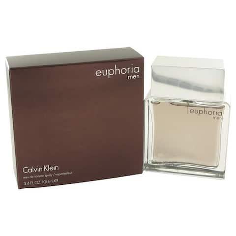 Calvin Klein Euphoria Men's 3.4-ounce Eau de Toilette Spray