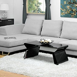 Adair Black Acrylic Coffee Table