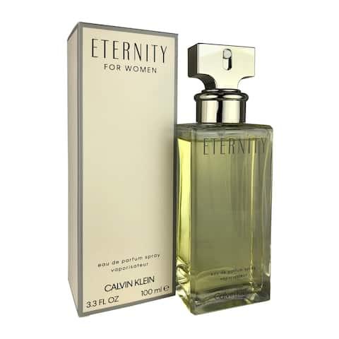 Calvin Klein Eternity Women's 3.4-ounce Eau de Parfum Spray - White