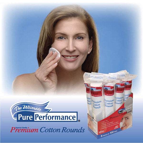 Iris Pure Performance 2400-count Cotton Pads