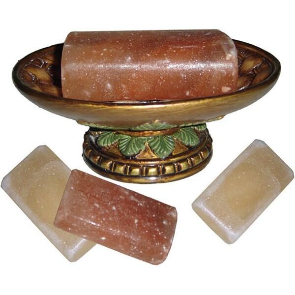 Black Tai Pure Himalayan Salt Soap Bars (Pack of 10)
