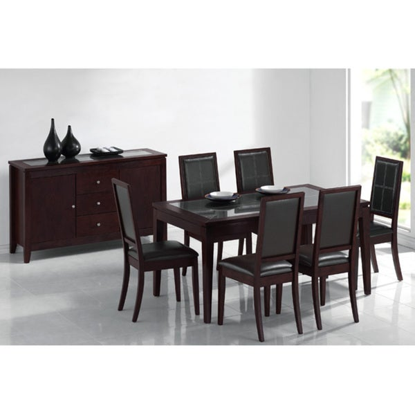 c468d2f73c Shop Furniture of America Tuscany Embrace 7-piece Dinette Set - Free  Shipping Today - Overstock - 3845435