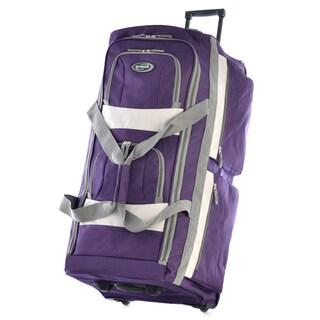 Olympia SRD 33-inch 8-pocket Rolling Upright Duffel Bag