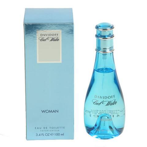 Davidoff Cool Water Women's 3.4-ounce Eau de Toilette Spray