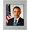 Obama Presidential Photo 11x14 Matted Photo