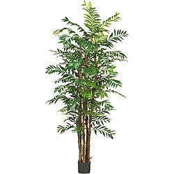 Silk 7-foot Bamboo Palm Tree