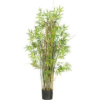 Silk 5-foot Bamboo Grass Plant