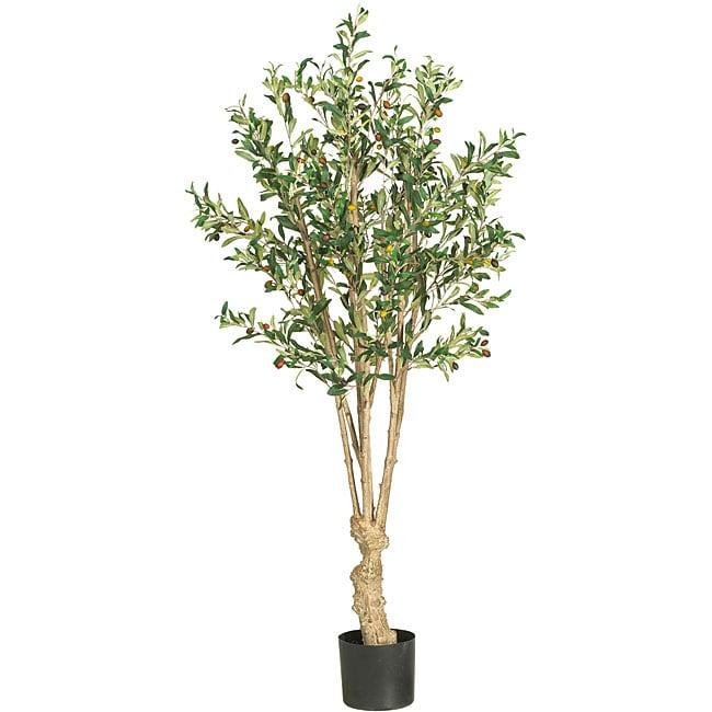 Silk 5-foot Olive Tree
