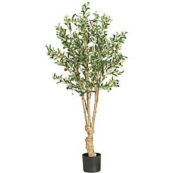 Silk 5-foot Olive Tree