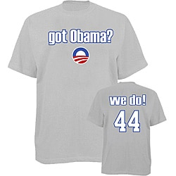 Men's 'Got Obama?' Grey T-shirt