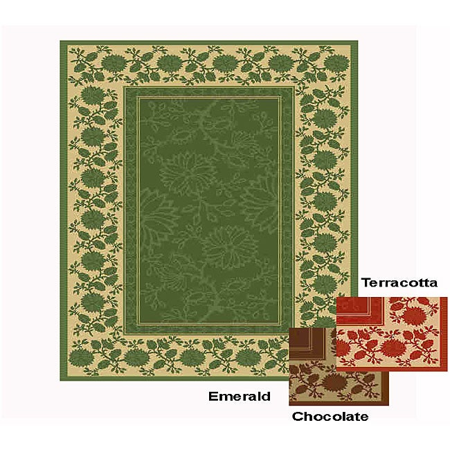 Summervine Reverse Indoor/ Outdoor Rug (5'3 x 7'6)