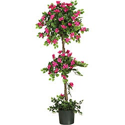 Bougainvillea 5-foot Topiary Silk Tree