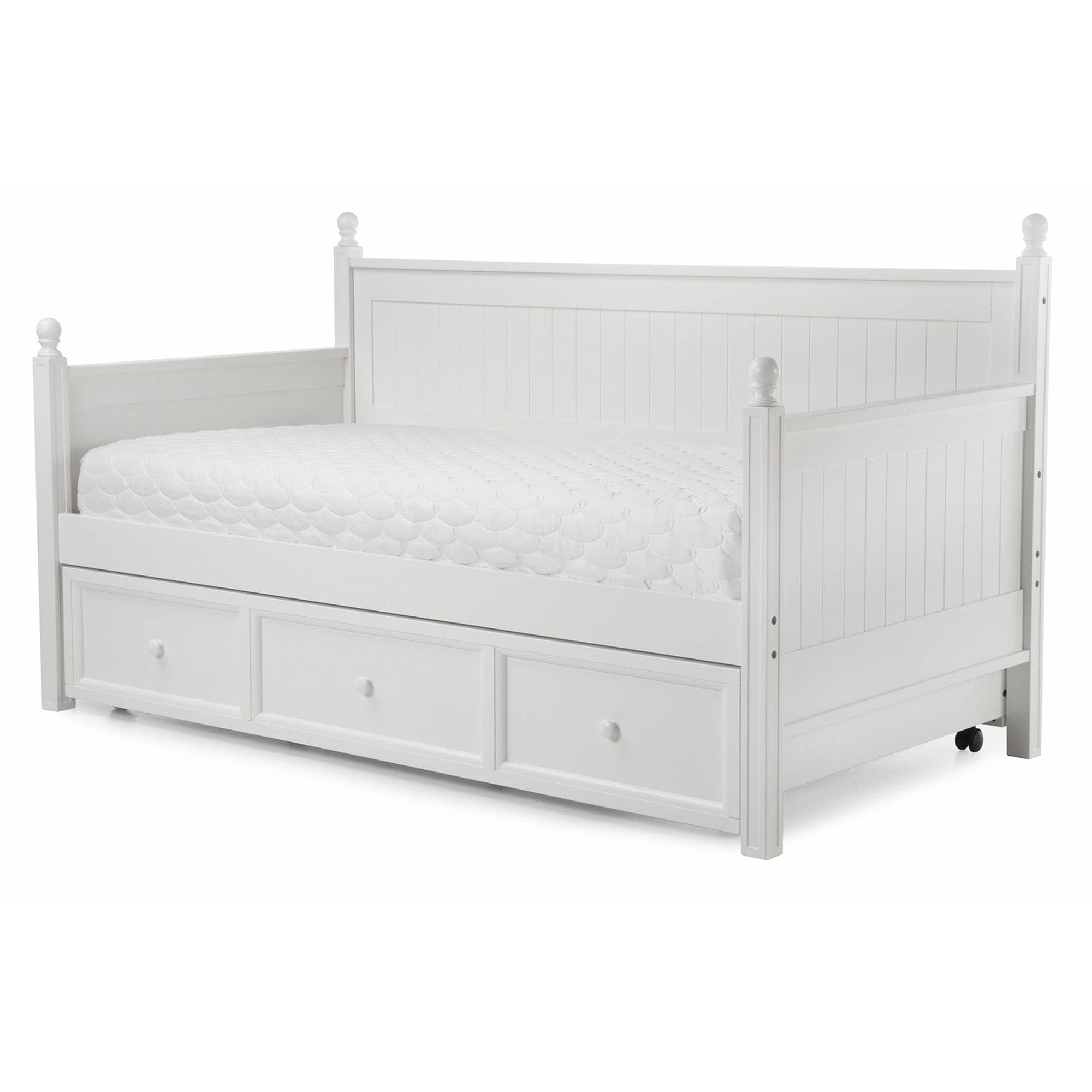 Fashion Bed Group Casey II Daybed with Roll Out Trundle D...