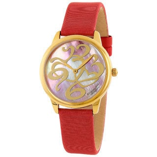 Stuhrling Original Women's Daphne Heart Water-Resistant Swiss Quartz Watch