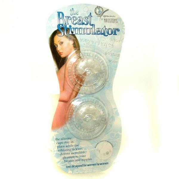 Clear Vibrating Nipple Stimulator Sex Toy Kit