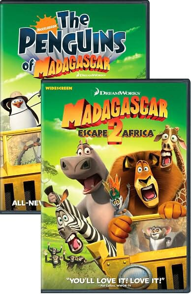 Madagascar: Escape 2 Africa/Nick Penguins (DVD)