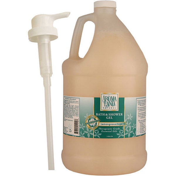 Aromaland 1-gallon Lemongrass/ Sage Shower Gel