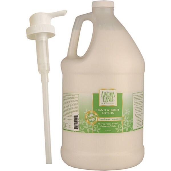 Aromaland 1-gallon Tea Tree/ Lemon Body Lotion