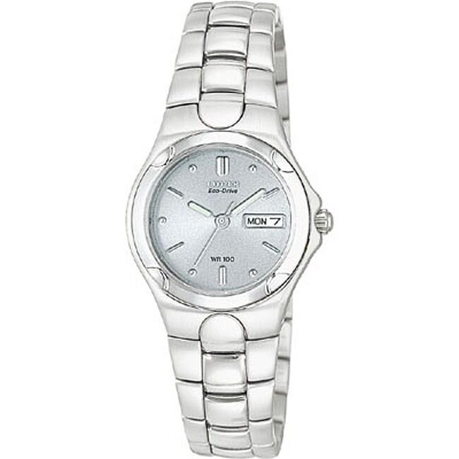 Citizen Women's EW3030-50A Eco-Drive Stainless Steel Watch