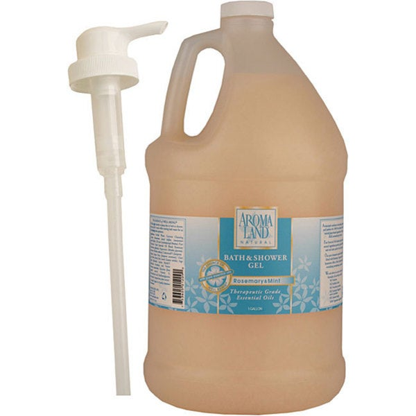 Aromaland 1-gallon Rosemary/ Mint Shower Gel