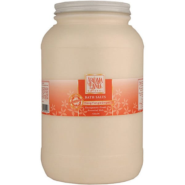 Aromaland 1-gallon Ylang/ Ginger Bath Salts