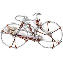 Handcrafted Bicycle Pin (Kenya)